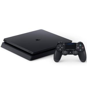 Console Sony Playstation 4 Slim 500 Go + Manette + Jeux The Last of Us Remastered + God Of War + Uncharted 4 A Thief's End - Noir
