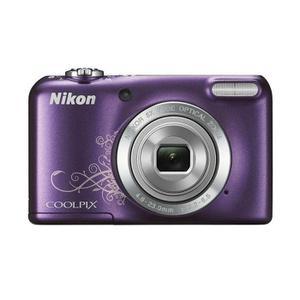 Compactcamera Nikon CoolPix L27 - Paars + Lens Nikon Nikkor 5x Wide Optical Zoom