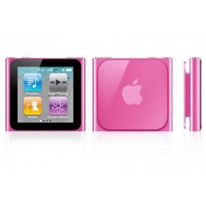 iPod Nano 6 MP3 & MP4 player 16GB- Pink