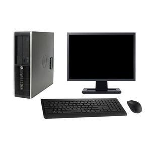 """Hp Compaq Pro 6300 SFF 19"""" Pentium 2,7 GHz - HDD 2 TB - 8GB teclado francés"""