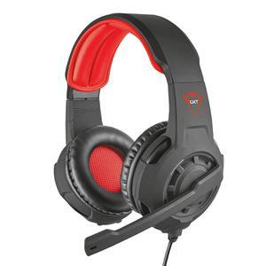 Kopfhörer Gaming mit Mikrophon Trust GXT 310 - Schwarz/Rot