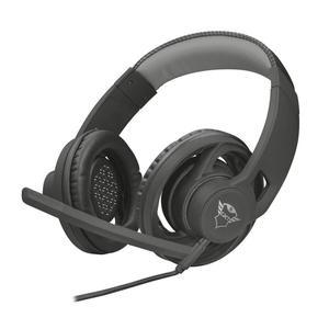 Trust GXT 333 Goiya Kuulokkeet Gaming Mikrofonilla - Musta