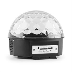 Boule disco DJ avec lecteur MP3 jeu de lumière LED MAX Magic Jelly