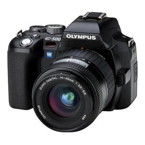 Cámara Reflex - Olympus E 500 - Negro + Objetivo 14-45 mm