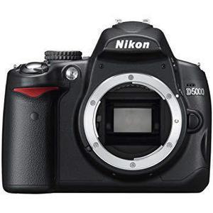 Reflex - Nikon D5000 Boitier Nu - Noir