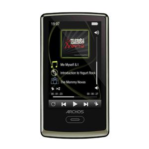 MP3-player & MP4 8GB Archos 3 Vision 501338 - Schokolade