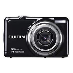 Compactcamera Fujifilm FinePix JV300 - Zwart + Lens Fujifilm Fujinon 3X Optical Zoom