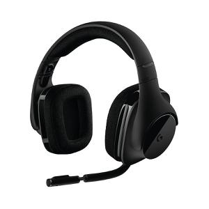 Casque Gaming Bluetooth avec Micro Logitech G533 Wireless Gami - Noir