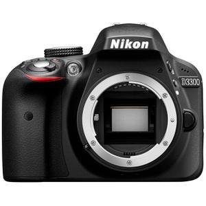 Cámara Reflex - Nikon D3300 - Negro - Sin Objetivo
