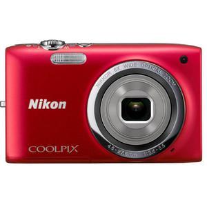 Kompaktkamera Nikon Coolpix S6700 Rot + Objektiv Nikon Nikkor 6x Wide Optical Zoom 25-250 mm f/3.5-6.5