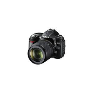 Reflex Nikon D90 Noir + Objectif Nikkor 18-55mm F/3.5-5.6g Vr