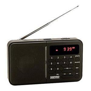 Radio Numérique Daewoo DRP-122B - Noir