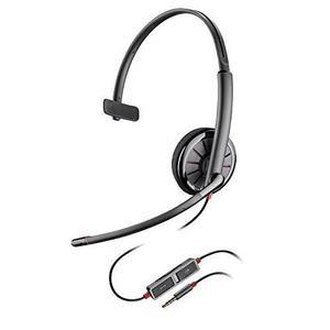Kopfhörer mit Mikrophon Plantronics Blackwire C215 - Schwarz