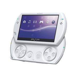 Sony PSP Go -käsikonsoli 4 GB - Helmenvalkoinen