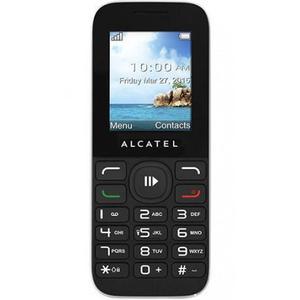 Alcatel OneTouch 1050D - Musta- Lukitsematon