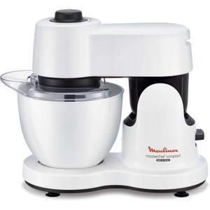 Multifunktions-Küchenmaschine MOULINEX Masterchef Compact QA217110 Weiß