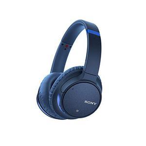 Casque Réducteur de Bruit  Bluetooth avec Micro Sony WH-CH700N - Bleu