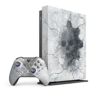 Xbox One X - HDD 1 TB - Gris/Blanco