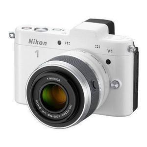 Hybride Nikon 1 V1 - Wit + Lens  10-30mm f/3.8-5.6VR