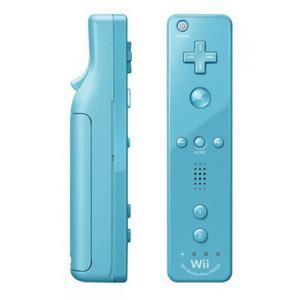 Nintendo Wiimote Controller Edición limitada Mario y Sonic en los Juegos Olímpicos de 2012 - Azul turquesa