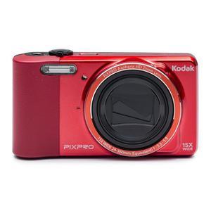 Kompaktikamera Kodak Pixpro FZ151 Punainen + Objektiivi Kodak Pixpro Aspheric HD Zoom Lens 24-360 mm f/3.3-5.9