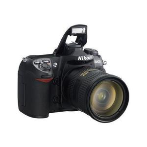 Reflex Nikon D200 - Zwart + Lens  18-70mm f/3.5-4.5EDG