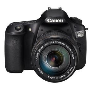 Reflex Canon EOS 60D - Zwart + Lens  17-85mm f/4-5.6ISUSM