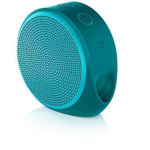 Enceinte Bluetooth Logitech x100 - Bleu turquoise