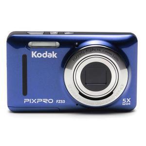 Kompaktikamera Kodak PIXPRO FZ53 Sininen + Objektiivi Kodak PIXPRO Aspheric Zoom 28-140 mm f/3.9-6.3