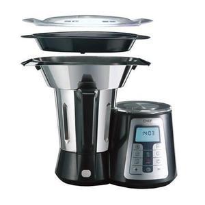 Multifunktions-Küchenmaschine TERMOCHEF lacor 69161 Schwarz