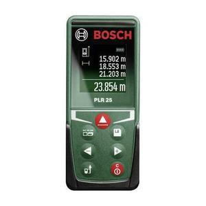Telémetro láser digital Bosch PLR 25
