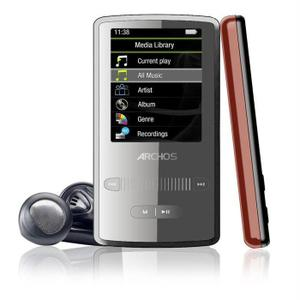 MP3-player & MP4 8GB Archos 2 Vision - Grau/Rot