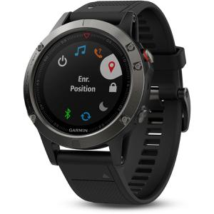 Horloges Cardio GPS Garmin Fenix 5 HR - Zwart
