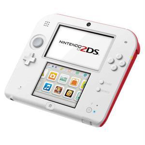 Nintendo 2DS - HDD 1 GB - Blanco/Rojo