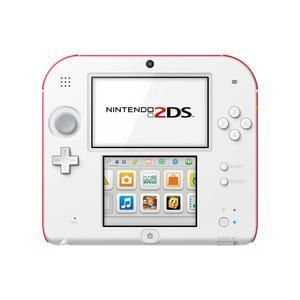 Nintendo 2 DS 4 GB -käsikonsoli + Animal Crossing: New Leaf -peli - Valkoinen/Punainen