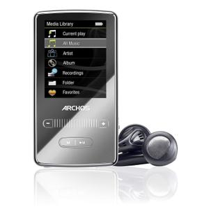 MP3-player & MP4 8GB Archos 2 Vision - Schwarz