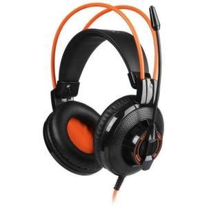 Casque Réducteur de Bruit Gaming avec Micro Somic G925 - Noir/Orange