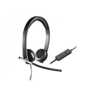 Casque        avec Micro Logitech H650E - Noir/Gris