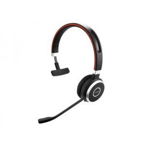 Casque Réducteur de Bruit     avec Micro Jabra Evolve 40 MS Mono - Noir