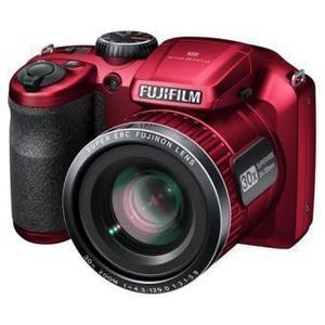 Kompakt Bridge Kamera Fujifilm Finepix S4800 - Rot