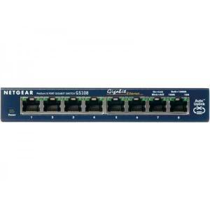 Schalter Netgear GS108GE