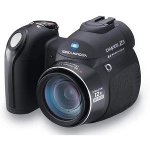 Kompakt Kamera Konica Minolta DiMAGE Z5 - Schwarz
