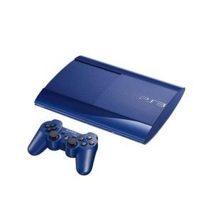 Konsoli Sony PlayStation 3 Ultra Slim 500GB + 1 Ohjain - Sininen