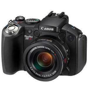 Canon PowerShot S5 IS - noir