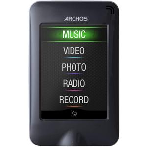 MP3-player & MP4 8GB Archos 28 Vision - Schwarz