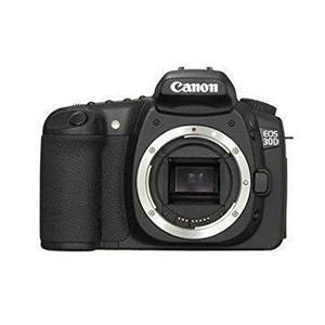 Yksisilmäinen Peiliheijastuskamera Canon EOS 30D Musta + Оbjektiivi Canon EF-S 18-55 mm f/3.5-5.6 IS II