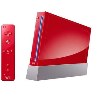 Console Nintendo Wii  + 2 Manettes - Rouge