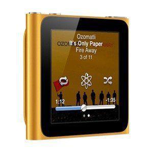 MP3-player & MP4 8GB iPod Nano 6 - Orange