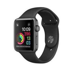 Apple Watch (Series 1) 42 - Aluminium Gris sidéral  - Bracelet Sport Noir