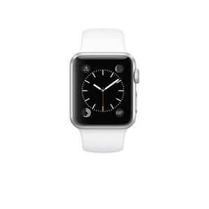 Apple Watch (Series 1) Marzo 2015 38 mm mm - Aluminium Argent -  Correa Sport